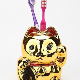 urban outfitters - Lucky Cat Toothbrush Holder