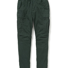 nonnative - TROOPER TROUSERS RELAX FIT COTTON TWILL OVERDYED