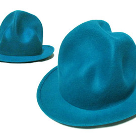 Vivienne Westwood - Vivienne Westwood worldsend Mountainhat Turquoise ヴィヴィアンウエストウッドワールズエンド限定マウンテンハット「ターコイズ」