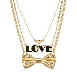 asos - ASOS Multipack Love Bow Necklaces