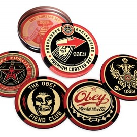 Obey - Obey Coaster Set F5