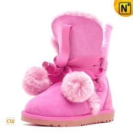 CWMALLS - Shearling Lined Ladies Snow Boots CW314406