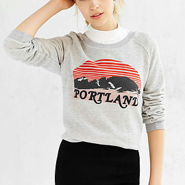 urban outfitters - Project Social T Favorite Cities Sweatshirt