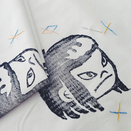 Paper Beast - Image of Grumpy Girl Tote Bag