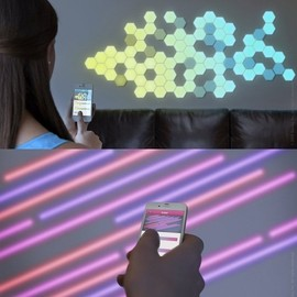 quirky - Wallbrights - light-up wall decals