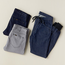 Lee, URBAN RESEARCH - DENIM RIB PANTS