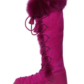 EMILIO PUCCI - 20MM SHEARLING SNOW BOOTS
