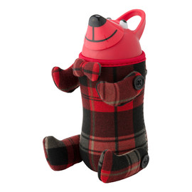 thermomug, サーモマグ - Animal Bottle Teddy bear_RED