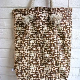 HUIHUI - HUIHUI BEACH BAG BROWN