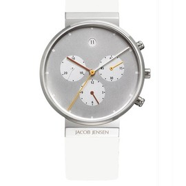 JACOB JENSEN - chronograph watch 32616 for Ladies