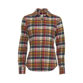 Boy By Band Of Outsiders -  Madras Easy Shirt in Multicolor