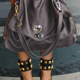 Bag:ZANELLATO - Shoes: MIU MIU