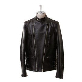 beautiful people - horse hide stand collar riders jacket