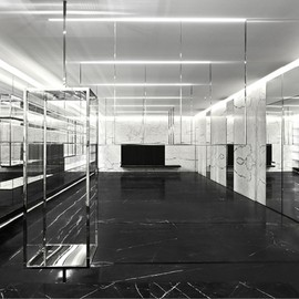 Hedi Slimane for Saint Laurent - NEW SAINT LAURENT STORE CONCEPT, SHANGHAI