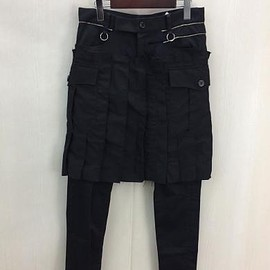 """UNDERCOVER - 16SS """"THE GREATEST"""" SCAB PANTS"""