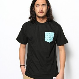 HUF - HUF / DIAMOND X CLASSIC H POCKET TEE