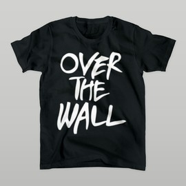 yancharica - OVER THE WALL Tシャツ