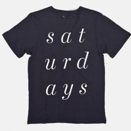 Saturdays - Italic T-Shirt