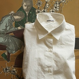 AURALEE - SUPERFINE BROADCLOTH SHIRTS