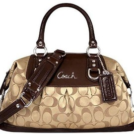 Coach - Coach 15443 Signature Ashley Sabrina Satchel Duffle Bag Purse Tote