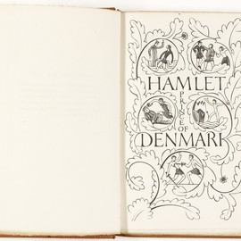 Eric Gill - artwork for The tragedy of Hamlet