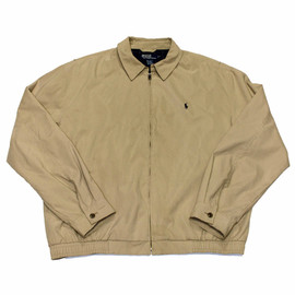 POLO RALPH LAUREN - Vintage Polo by Ralph Lauren Tan Jacket Mens Size XL