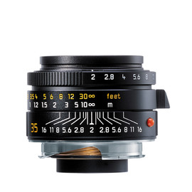 Leica - Summicron-M 35mm f/2.0 ASPH- Black