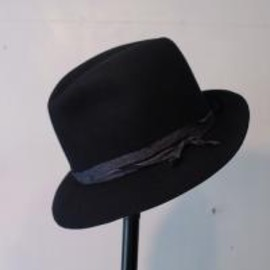 TAKAHIROMIYASHITA The SoloIst. - nobled hat. -d.navy.-