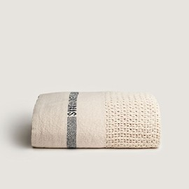 ◯ - Senovinis Cotton Blanket from Fog Linen.