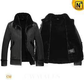 CWMALLS - CWMALLS® Cheyenne Shearling Leather Jacket CW857237