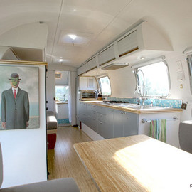 Matthew Hofmann - restored  70's  Airstream
