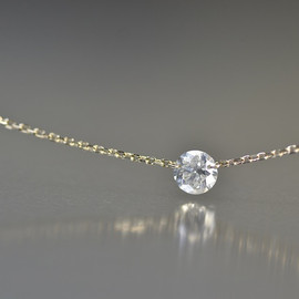 kataoka - k18 gold diamond necklace