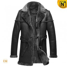 CWMALLS - Mens Sheepskin Lined Coat CW878578