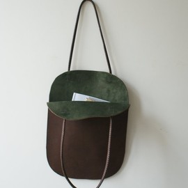 skinANDawl - Handmade Leather Tote