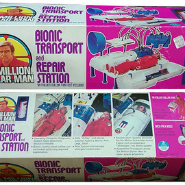Kenner - Bionic Transport and Repair Station