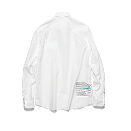 uniform experiment - INSIDE OUT B.D SHIRT