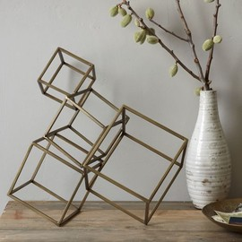 west elm - Cubed Sculpture
