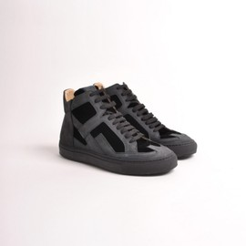 MM6 Martin Margiela - High Top Sneaker Black