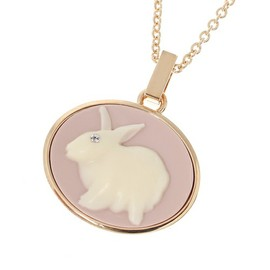 MARC BY MARC JACOBS - BUNNY CAMEO PENDANT