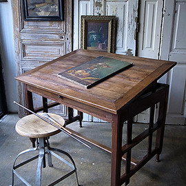finestaRt - フランスの製図机-french drafting table
