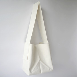 how to live - canvas origami bag