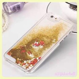 plamode - Glitter musical nate iPhone case