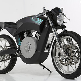 Smits Custom Choppers - Electric Bike