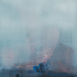 Ronny Broeckx - Her Body becomes a landscape, acrylic on canvas