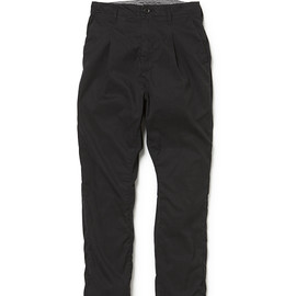 nonnative - POSTMAN PANTS C/N OXFORD