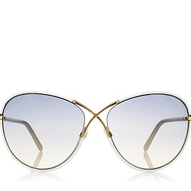 TOM FORD - Rosie Oversized Butterfly Sunglasses