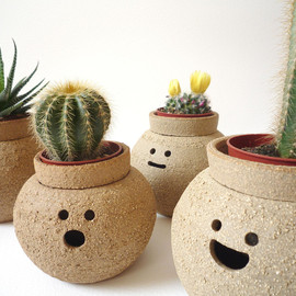 namnamceramics - Hairy Babes Plant: Pot ALICE