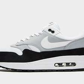 NIKE - Air Max 1 - Cool Grey/Dark Obsidian/White?