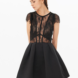 Sandro Paris - Davina Dress - Little Black Dress - Sandro Paris