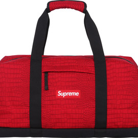 Supreme - Croc Duffle Bag